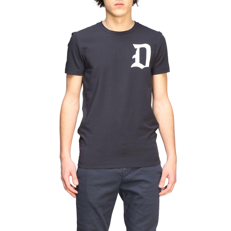 T-shirt Dondup: Dondup short-sleeved T-shirt with logo white 1
