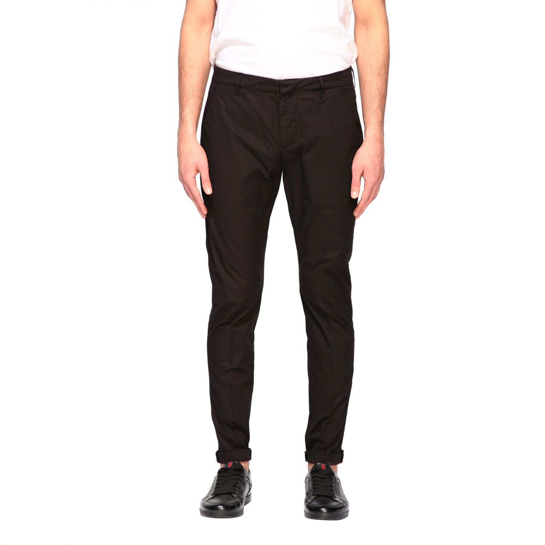 Pants Dondup: Dondup classic low waist trousers black 1