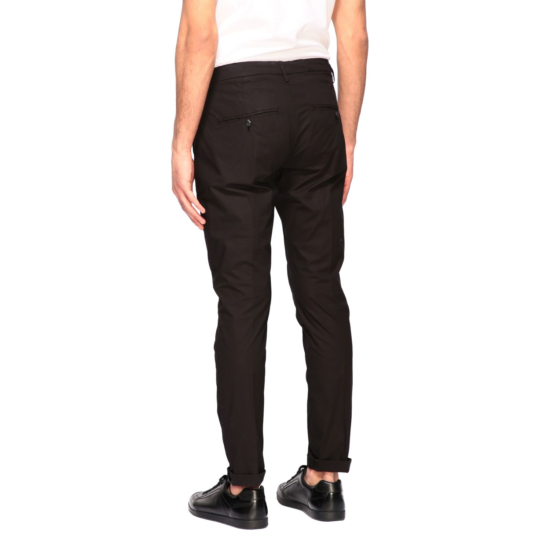 Pants Dondup: Dondup classic low waist trousers black 2