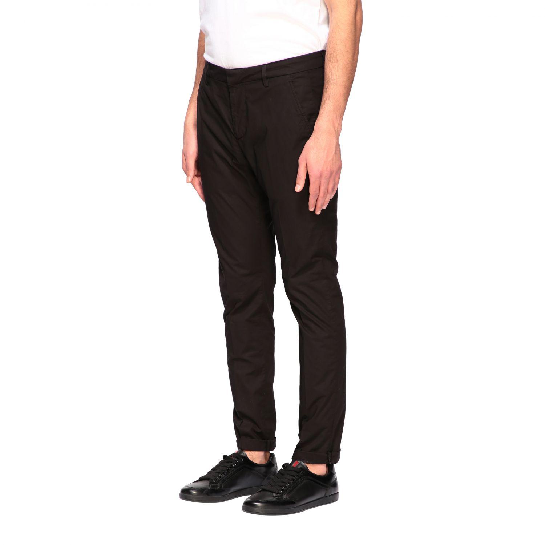Pants Dondup: Dondup classic low waist trousers black 3