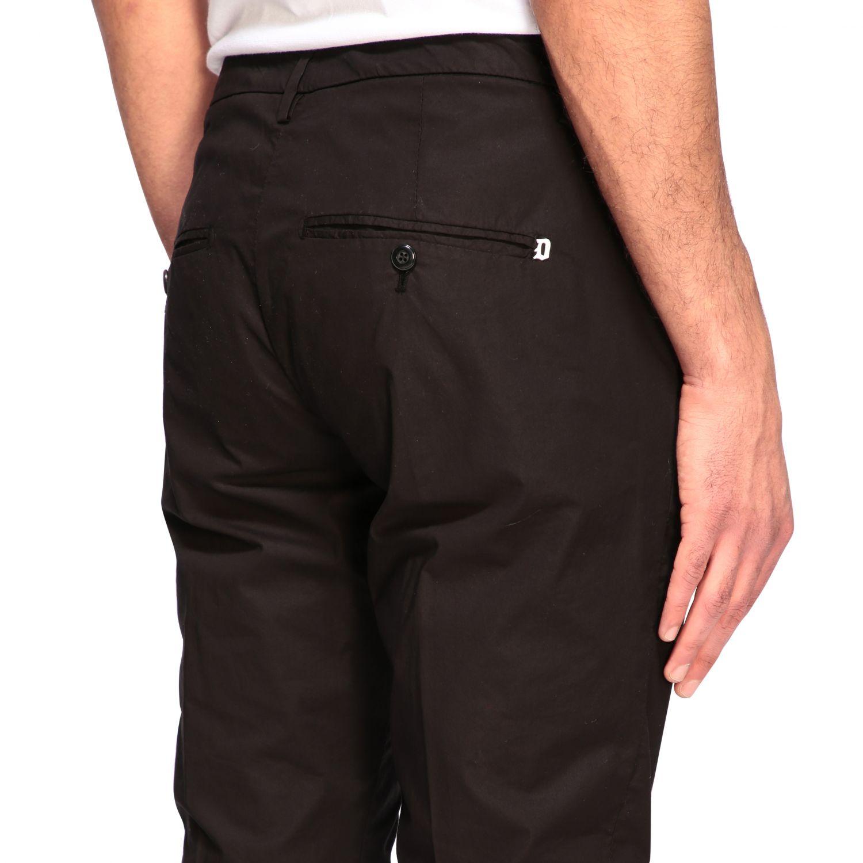 Pants Dondup: Dondup classic low waist trousers black 4