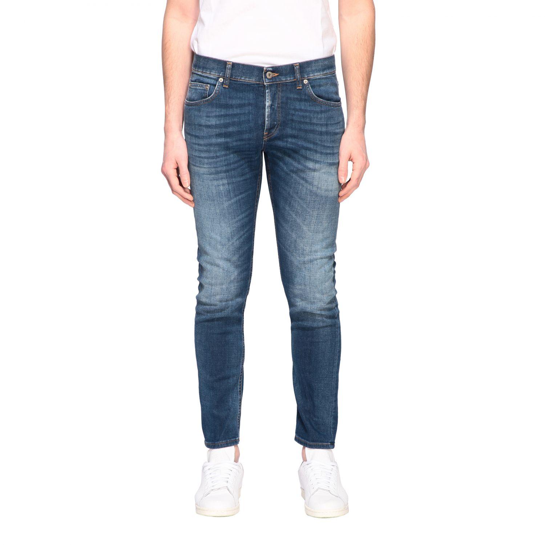 Jeans Dondup: Dondup jeans in used denim denim 1