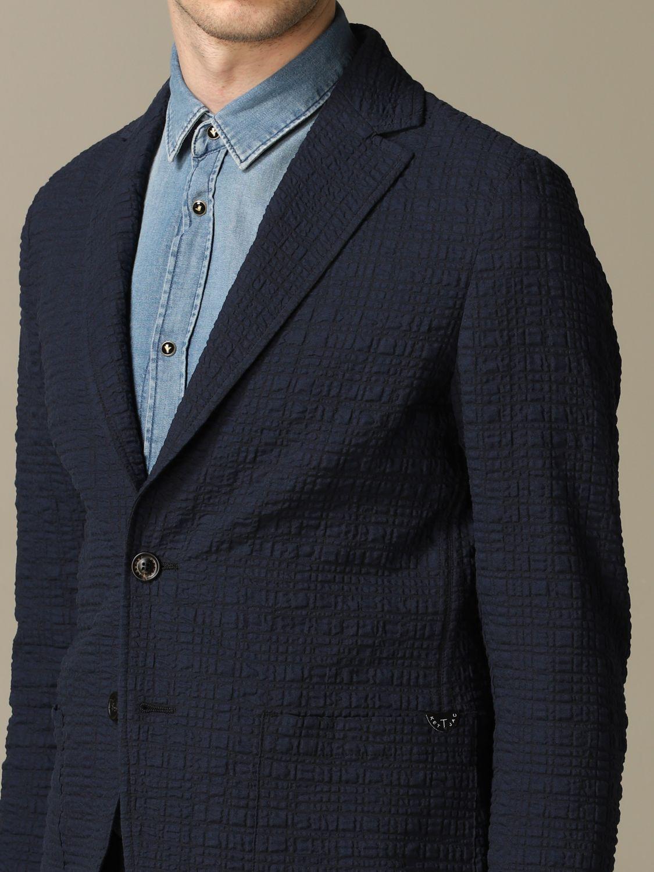 Blazer Claudio Tonello: Blazer herren Claudio Tonello blau 3