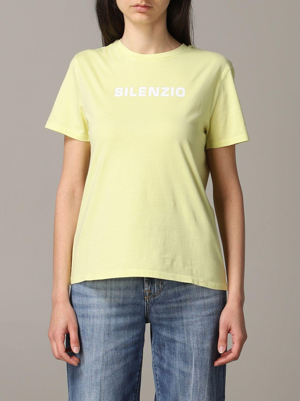 T-Shirt Aspesi: Jumper women Aspesi yellow 1