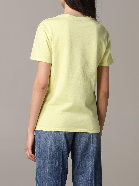 T-Shirt Aspesi: Jumper women Aspesi yellow 3
