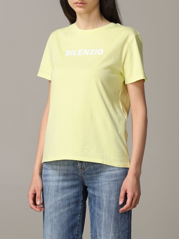 T-Shirt Aspesi: Jumper women Aspesi yellow 4