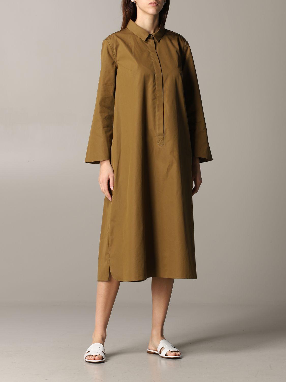 Dress Aspesi: Dress women Aspesi tobacco 1