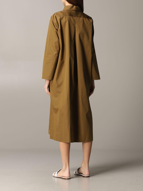 Dress Aspesi: Dress women Aspesi tobacco 2