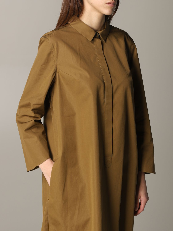Dress Aspesi: Dress women Aspesi tobacco 4