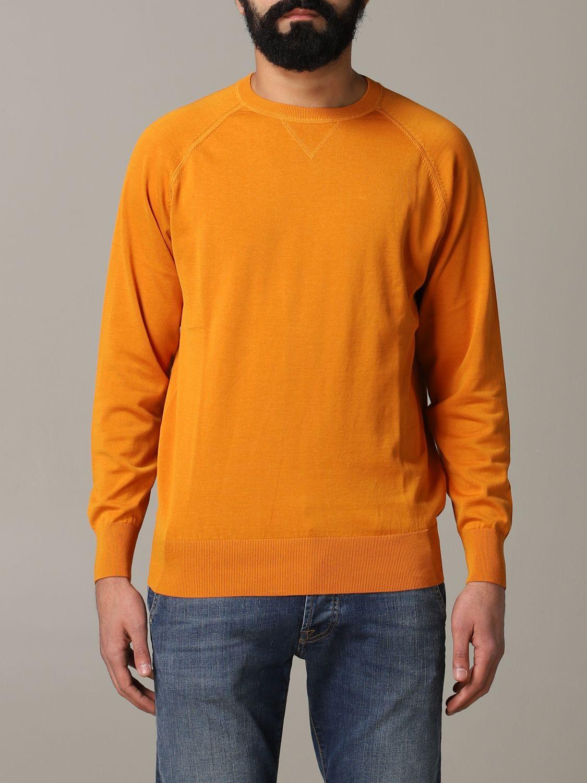 Sweatshirt Aspesi: Sweatshirt men Aspesi orange 1