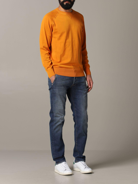 Sweatshirt Aspesi: Sweatshirt men Aspesi orange 2