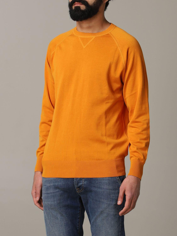 Sweatshirt Aspesi: Sweatshirt men Aspesi orange 4