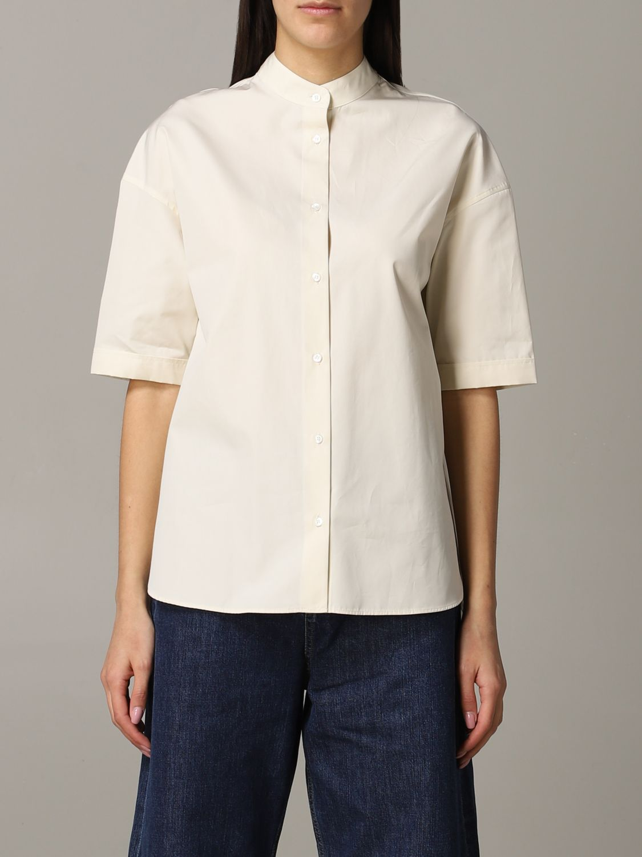 Shirt Aspesi: Shirt women Aspesi natural 1