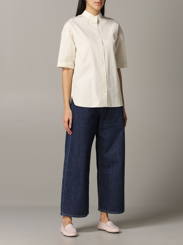 Shirt Aspesi: Shirt women Aspesi natural 2