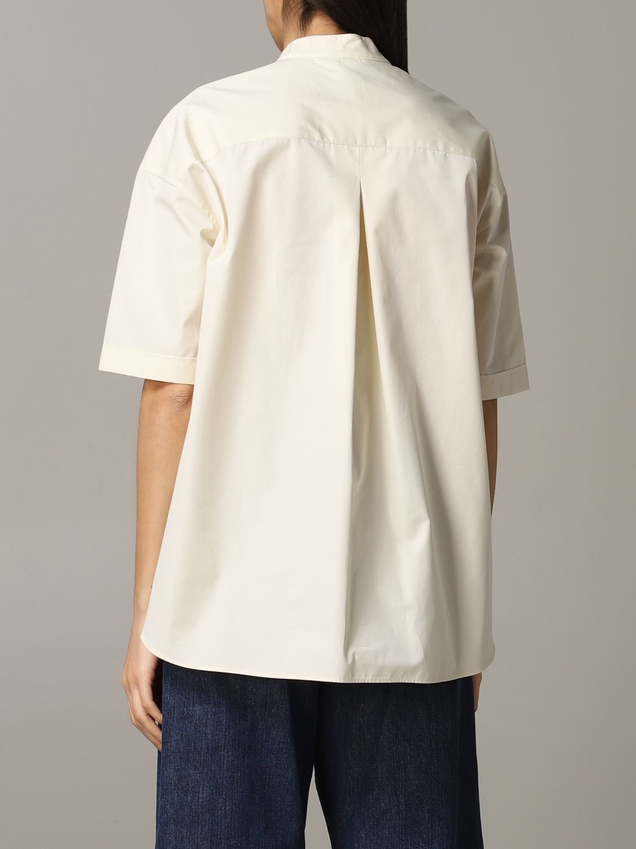 Shirt Aspesi: Shirt women Aspesi natural 3
