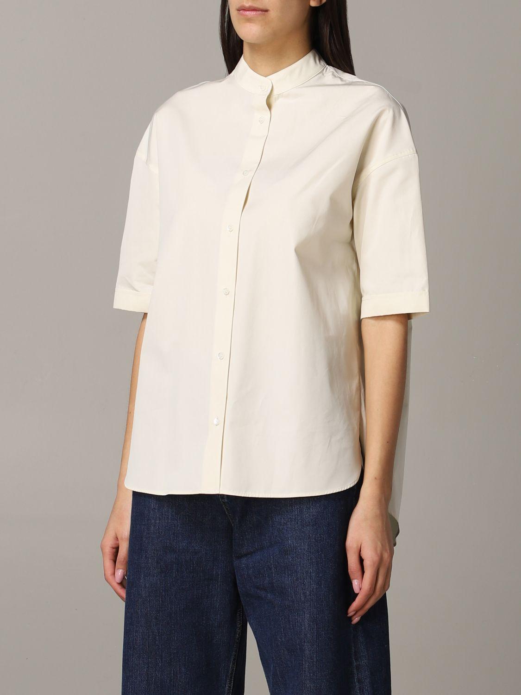 Shirt Aspesi: Shirt women Aspesi natural 4