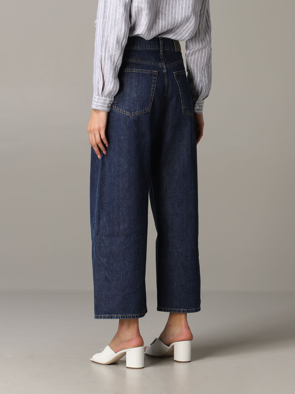 Jeans Aspesi: Trousers women Aspesi grey 3