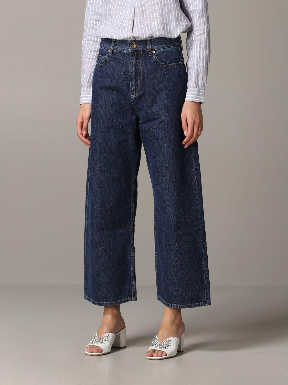 Jeans Aspesi: Trousers women Aspesi grey 4