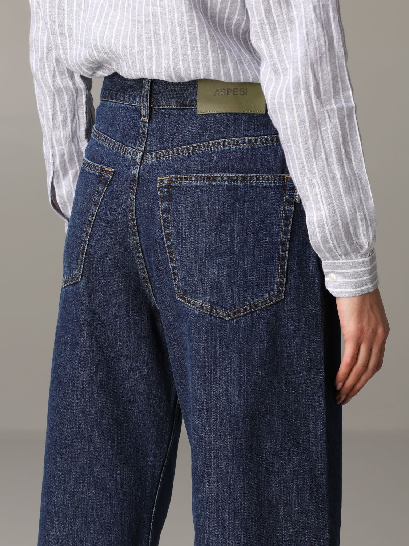 Jeans Aspesi: Trousers women Aspesi grey 5