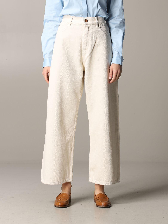 Jeans Aspesi: Trousers women Aspesi butter 1