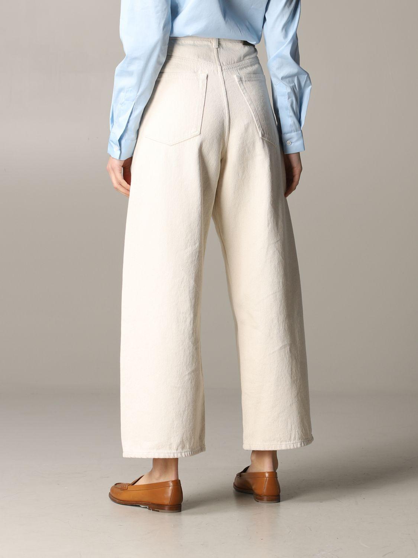Jeans Aspesi: Trousers women Aspesi butter 3