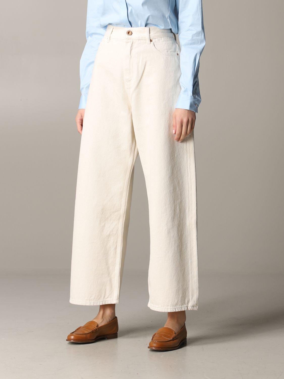 Jeans Aspesi: Trousers women Aspesi butter 4