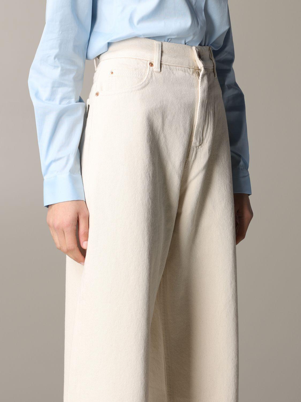 Jeans Aspesi: Trousers women Aspesi butter 5