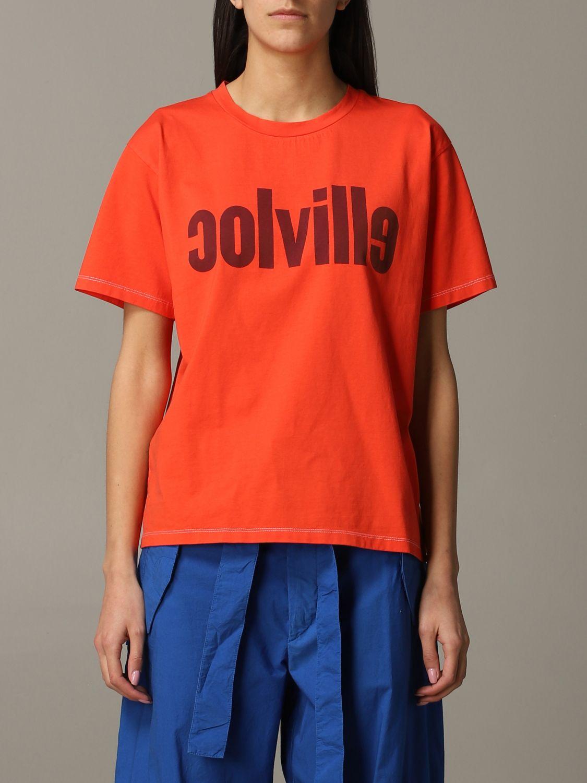 T-Shirt Colville: T-shirt women Colville orange 1