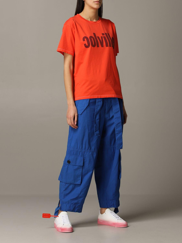 T-Shirt Colville: T-shirt women Colville orange 2