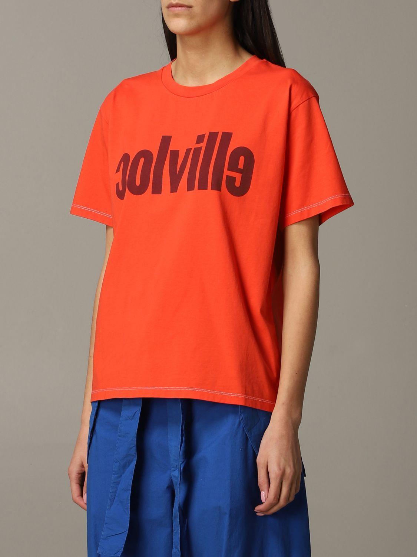 T-Shirt Colville: T-shirt women Colville orange 3