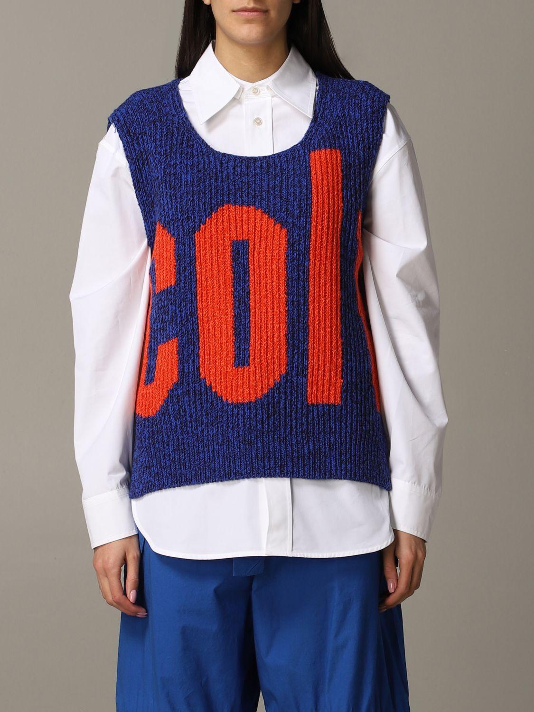 Waistcoat Colville: Waistcoat women Colville blue 1