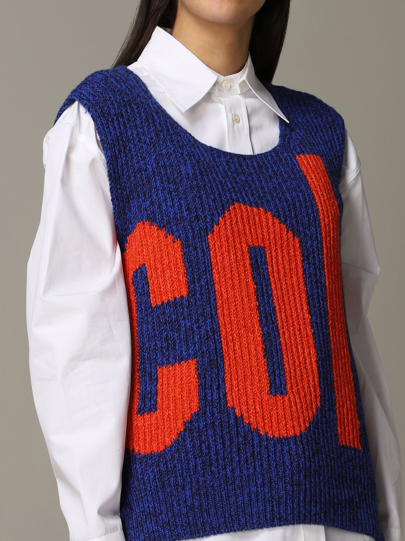 Waistcoat Colville: Waistcoat women Colville blue 5