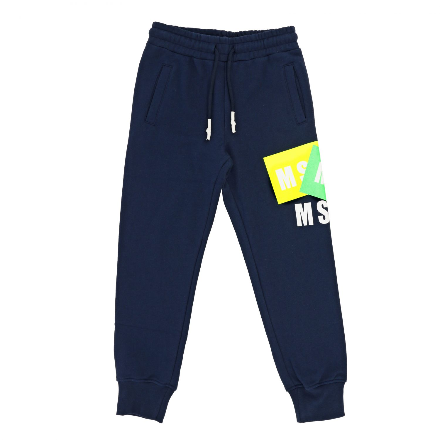 Trousers kids Msgm Kids blue 1