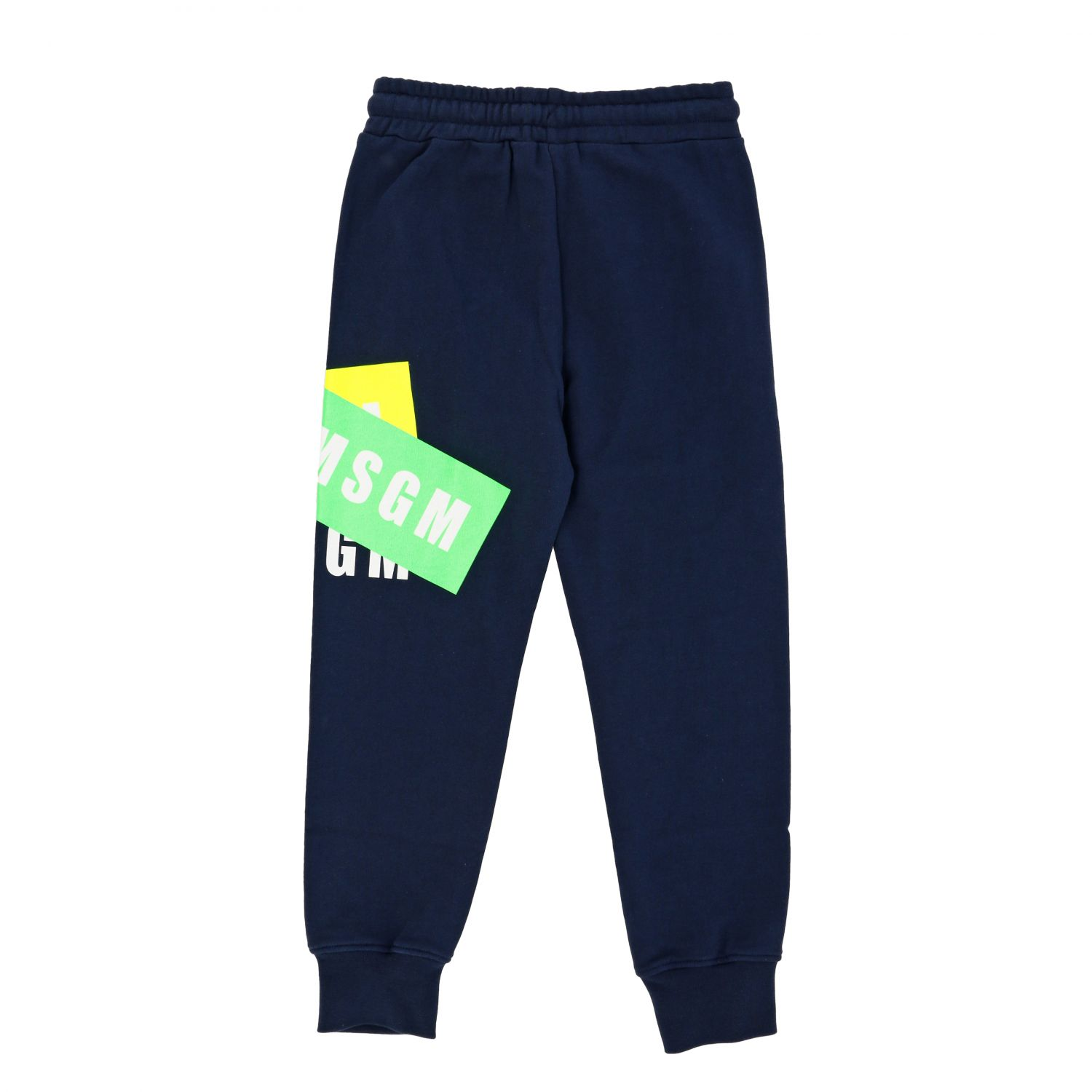 Trousers kids Msgm Kids blue 2