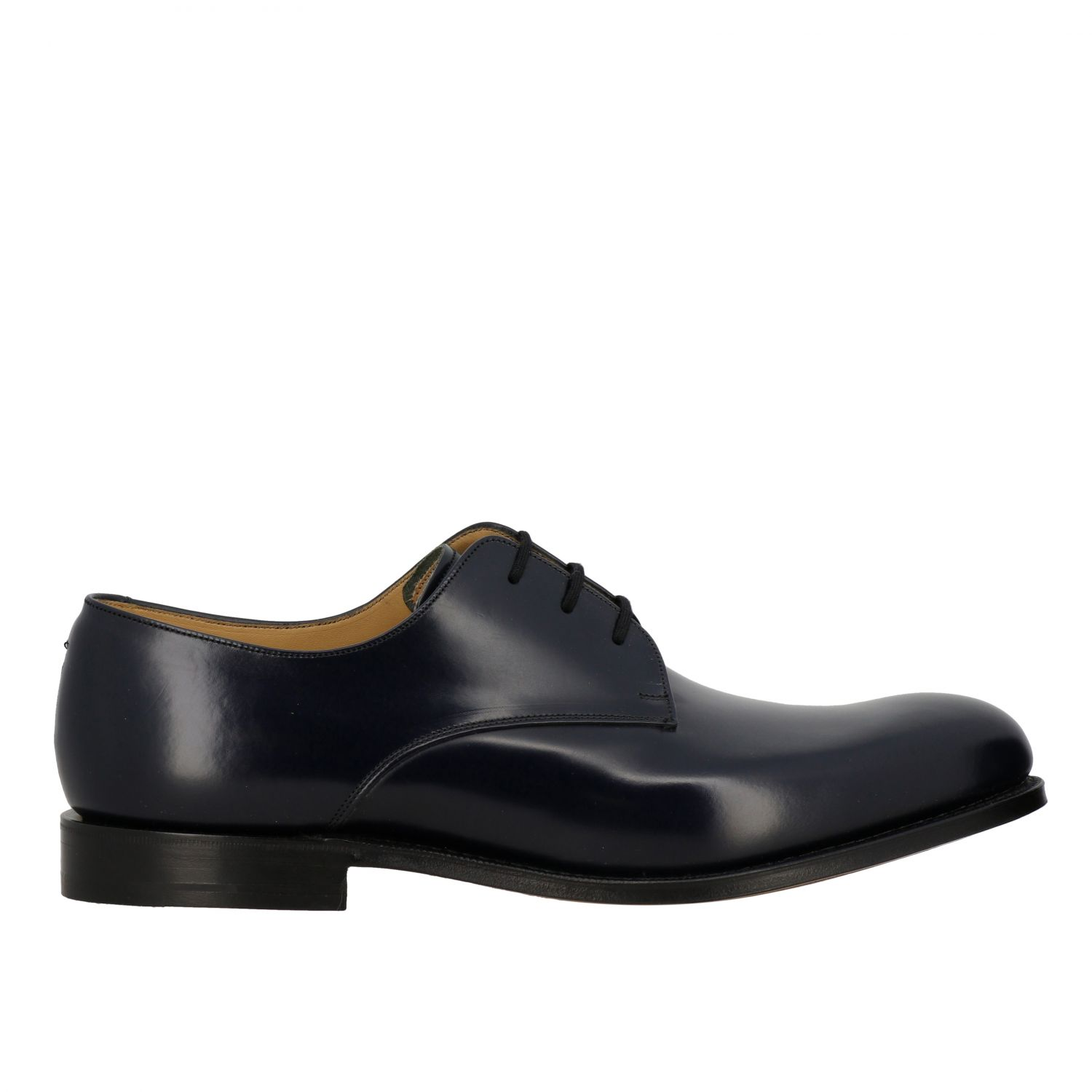 Brogue shoes Church's: Church's lace-up in smooth leather navy 1