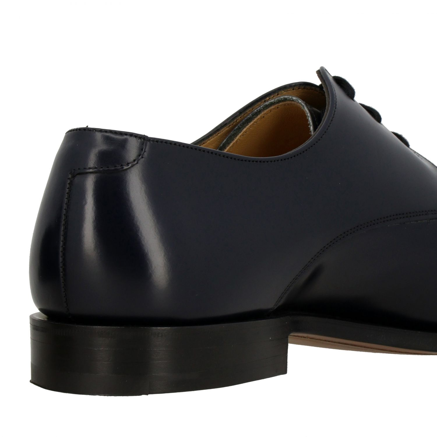 Brogue shoes Church's: Church's lace-up in smooth leather navy 5