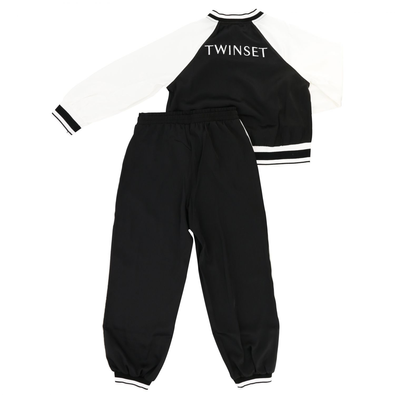 Completo felpa + pantalone Twin-set bianco 2
