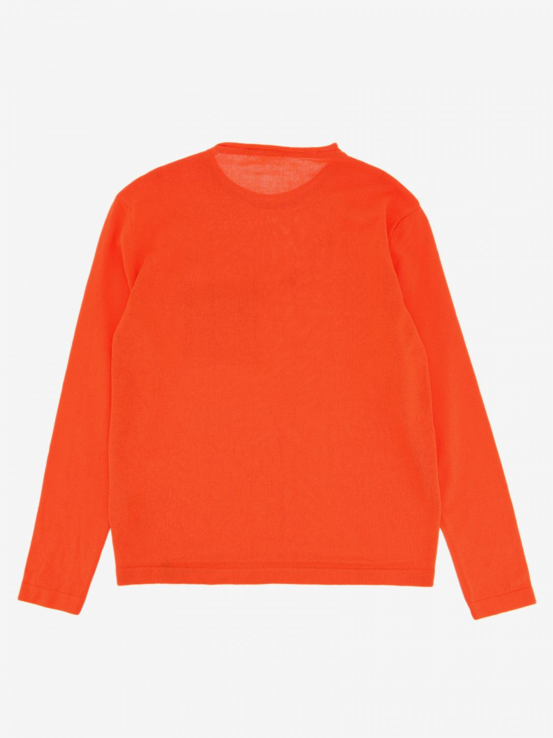Pull enfant Daniele Alessandrini orange 2