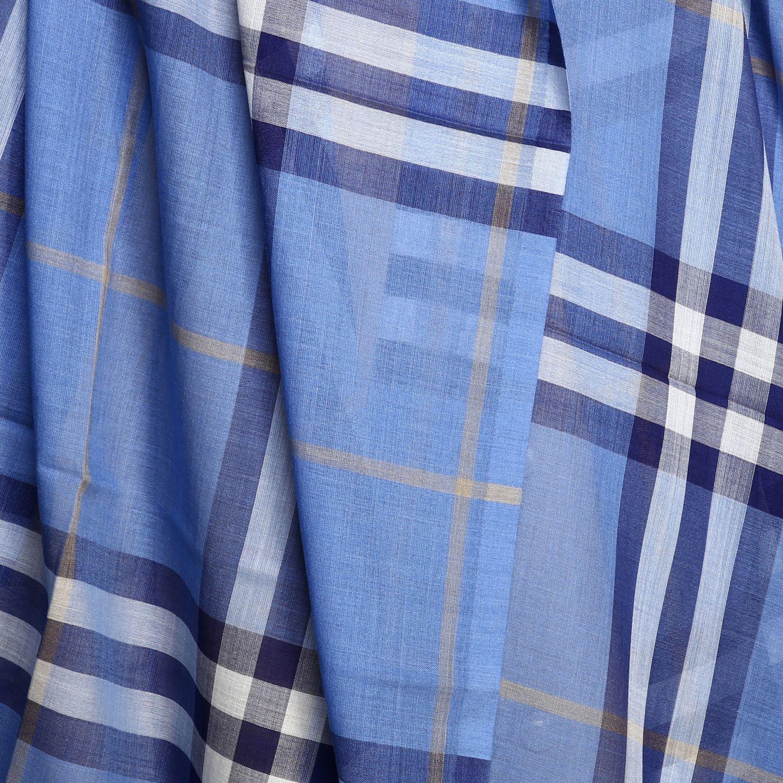 écharpe femme Burberry bleu azur 3