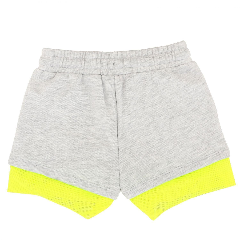 Pantaloncino Diadora: Pantaloncino Diadora con logo grigio 2