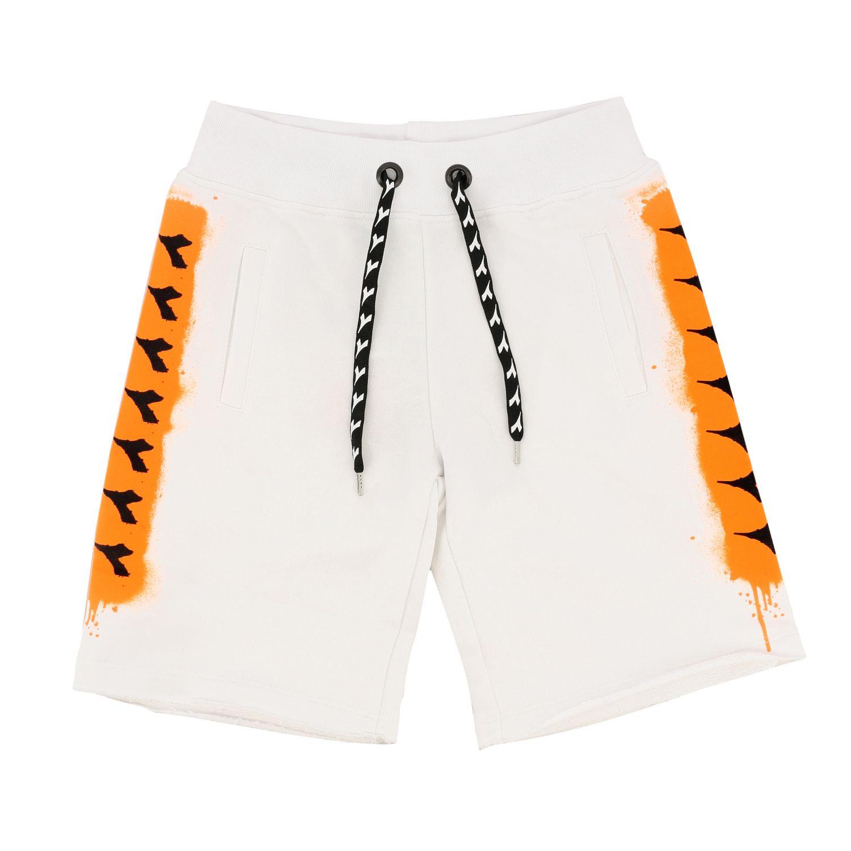 Shorts Diadora: Shorts kids Diadora white 1