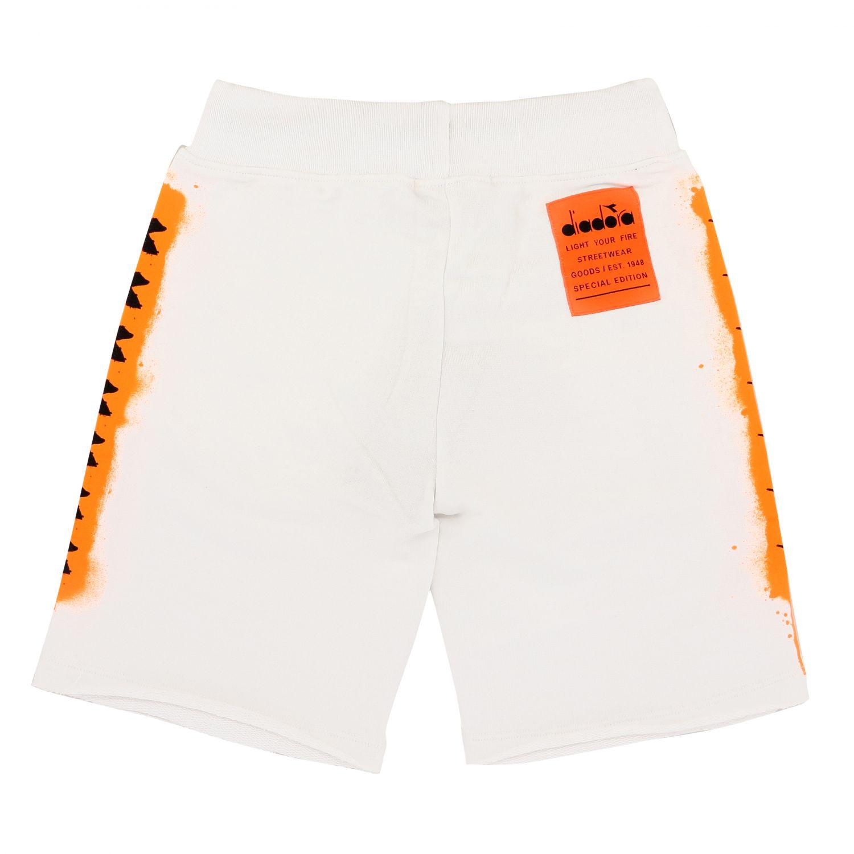 Shorts Diadora: Shorts kids Diadora white 2