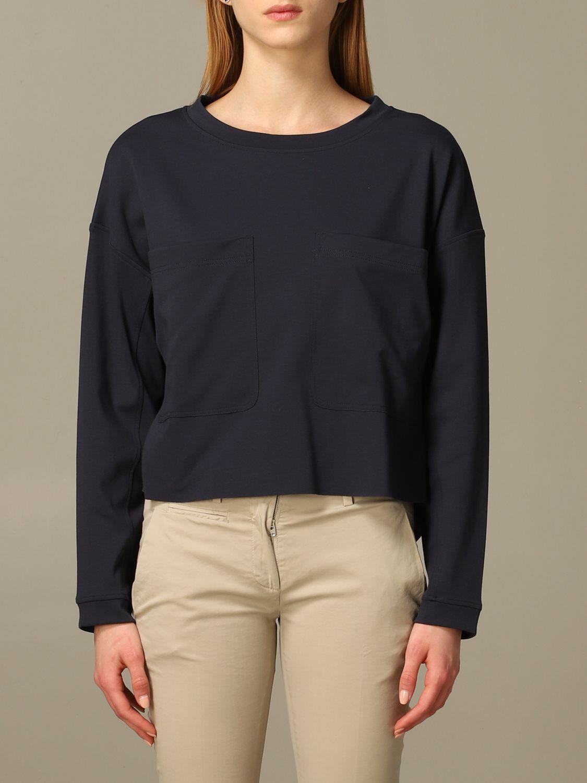 Sweatshirt women Dondup blue 1