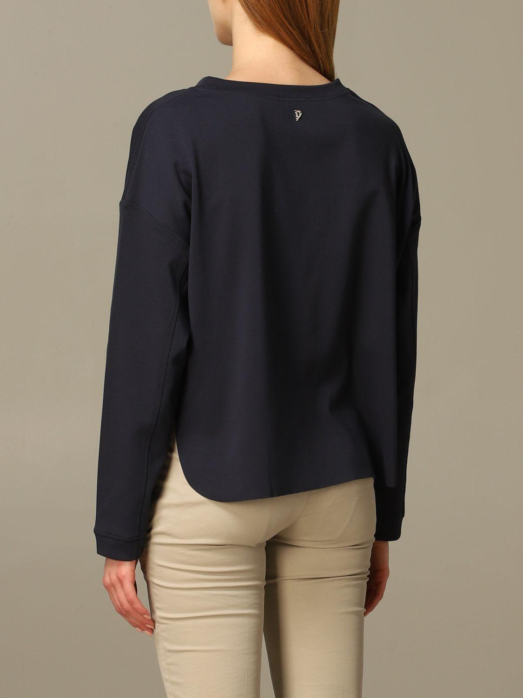 Sweatshirt women Dondup blue 2