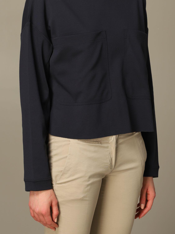 Sweatshirt women Dondup blue 3