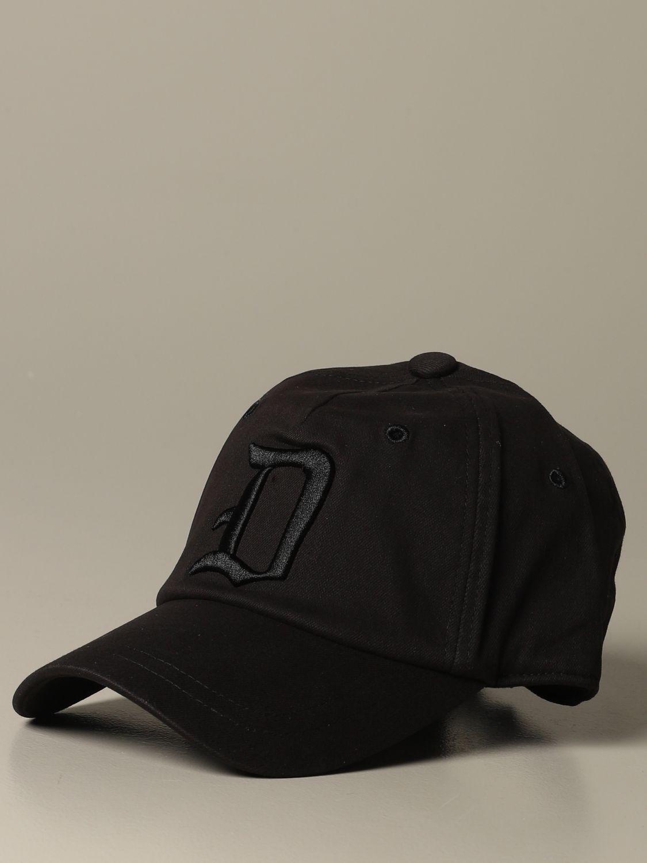 Hat Dondup: Hat men Dondup black 1