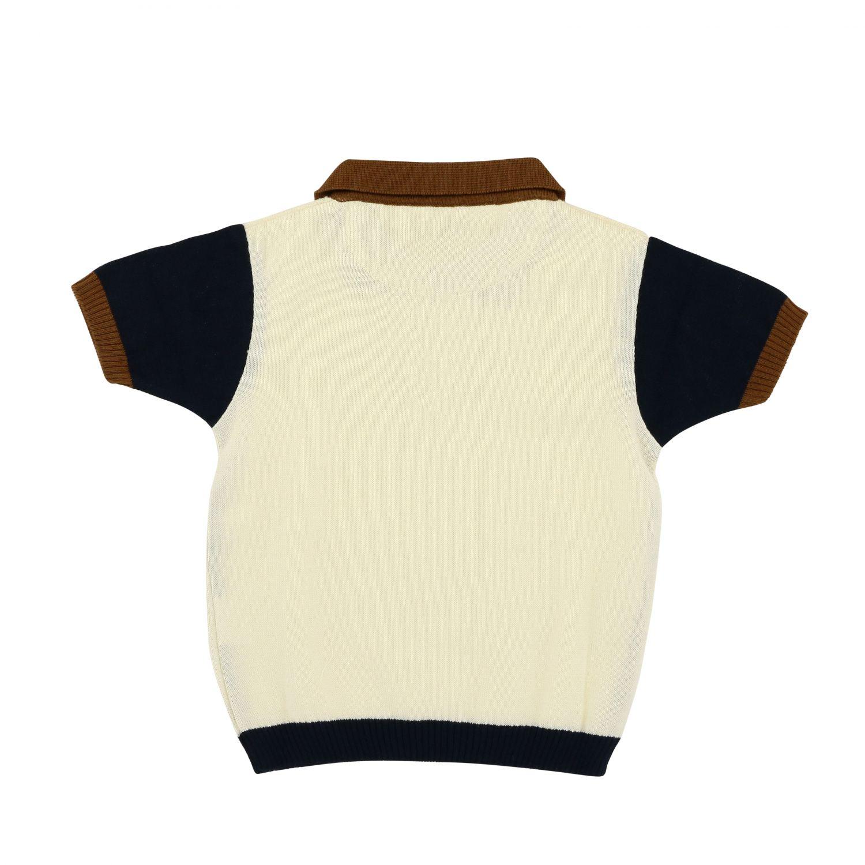 T-shirt kids Nupkeet ocher 2