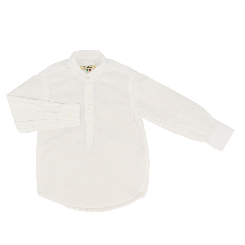Nupkeet 立领衬衫 白色 1