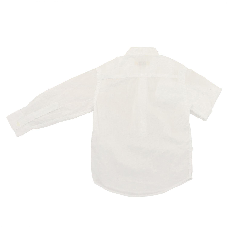 Camisa niños Nupkeet blanco 2