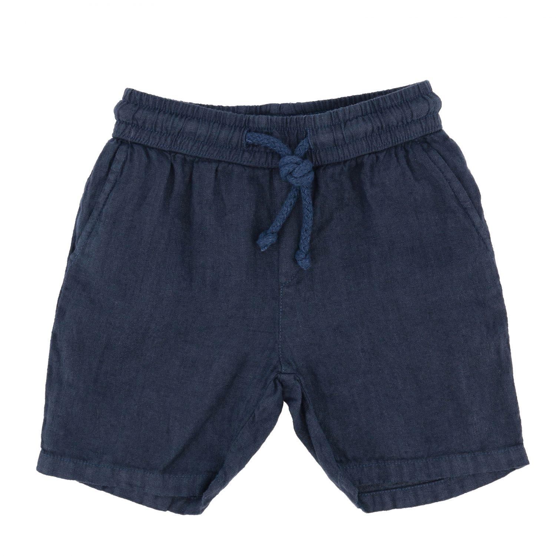Pantalón corto niños Nupkeet azul oscuro 1